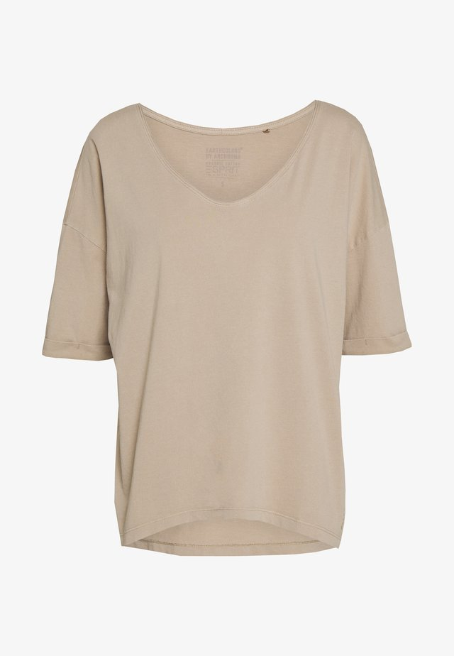 CORE ARCHRO - Basic T-shirt - skin beige