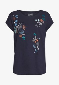 Esprit - CORE - T-shirt print - navy - 0