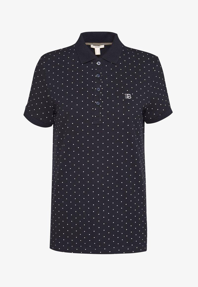 Esprit - FLW POLO TEE - Polo shirt - navy