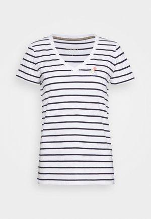 CORE - Print T-shirt - navy
