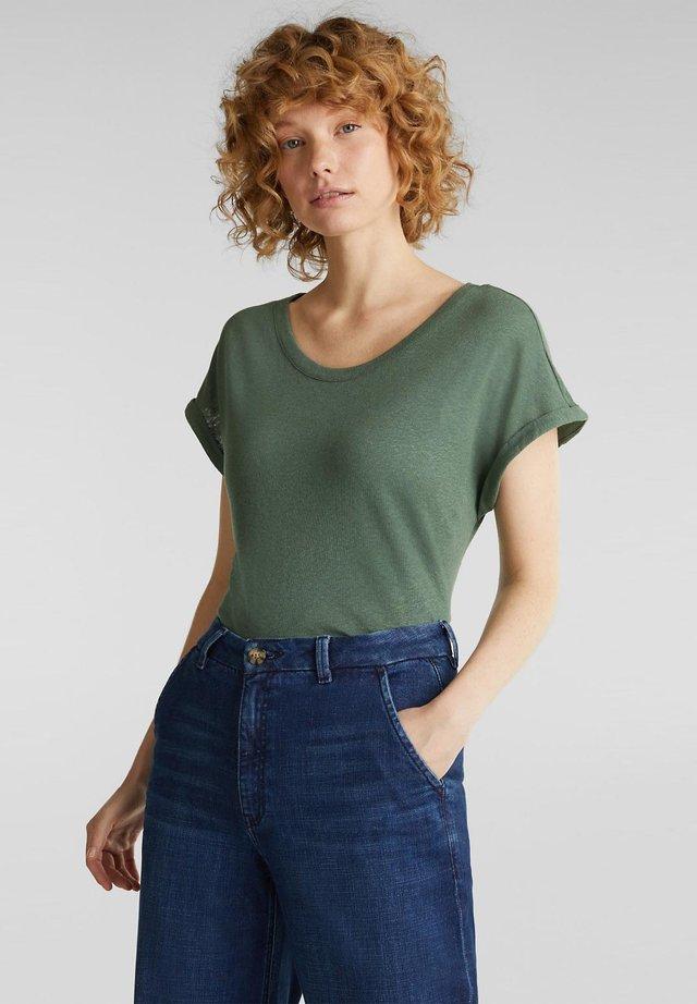T-shirt basic - khaki green