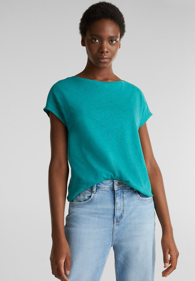 FASHION  - T-shirt basic - teal green