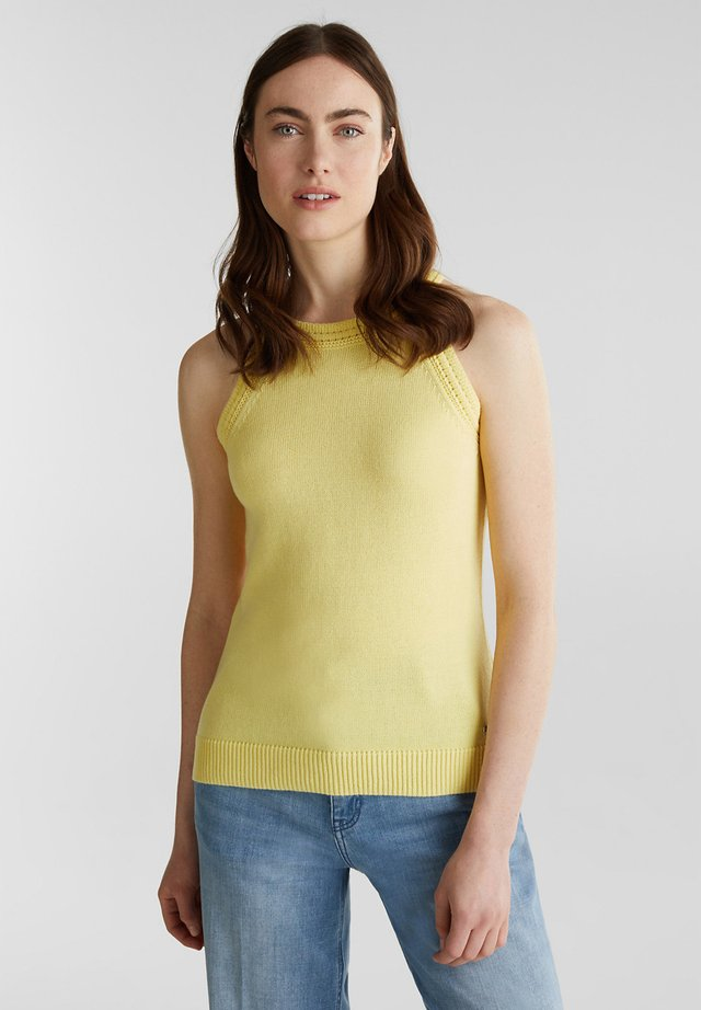 Top - lime yellow