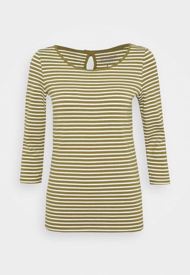 Maglietta a manica lunga - olive