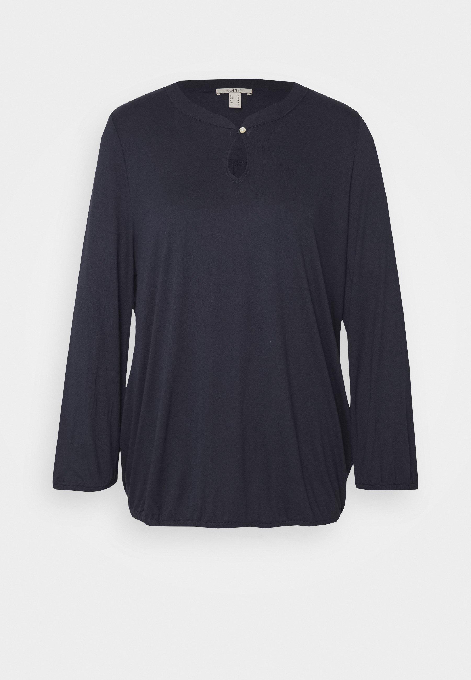 T shirt à manches longues navy