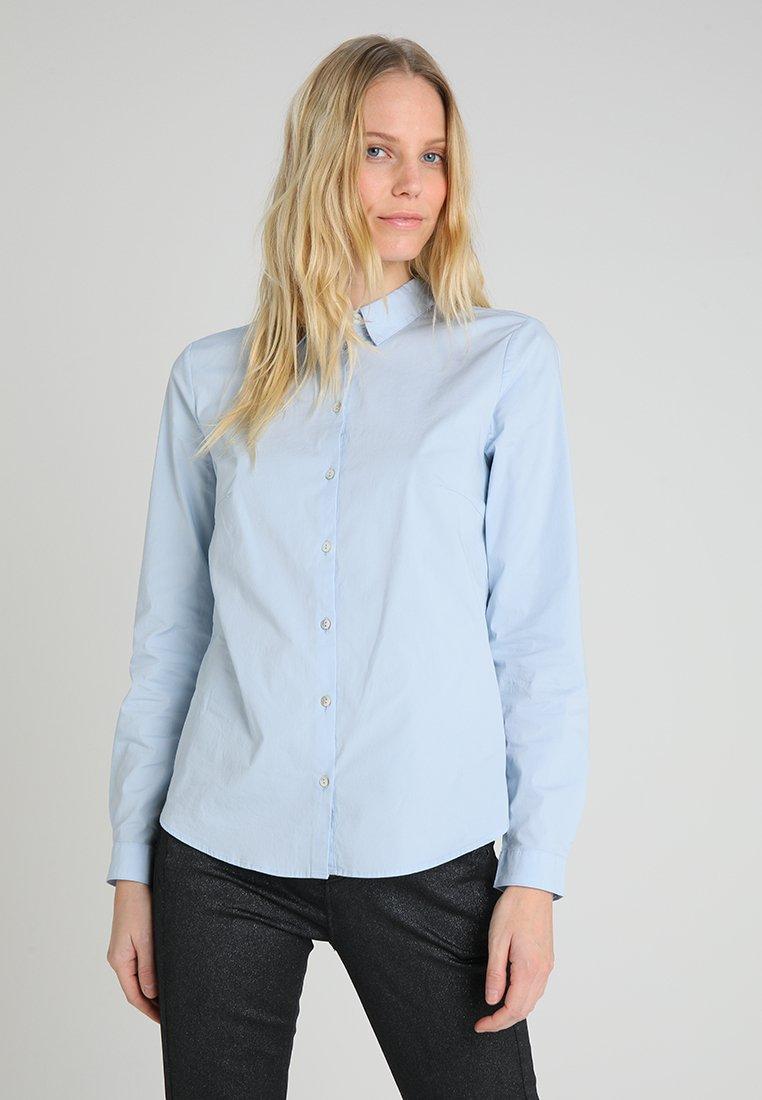 Esprit - FLOW - Button-down blouse - light blue