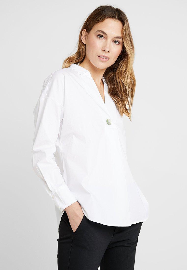 Esprit - POPLIN STRETCH - Bluse - white