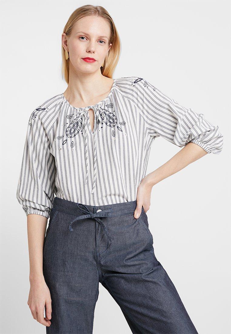 Esprit - STRIP - Bluse - off white