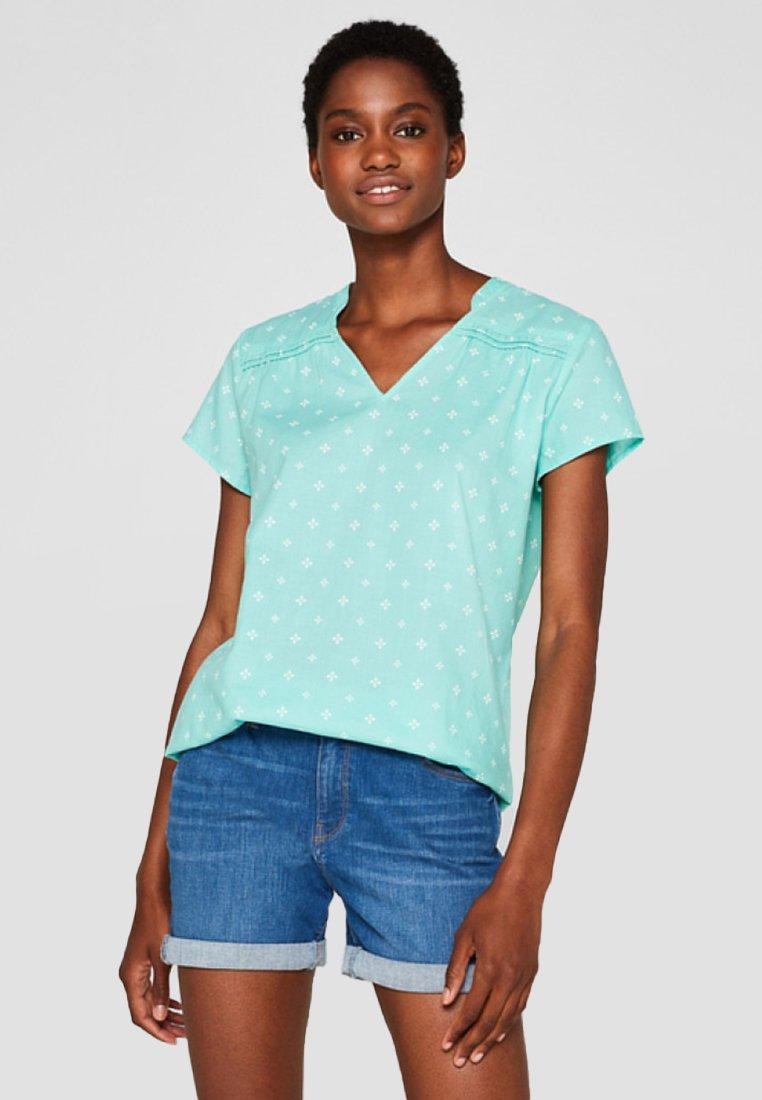 Esprit - MOSS  - Bluse - turquoise