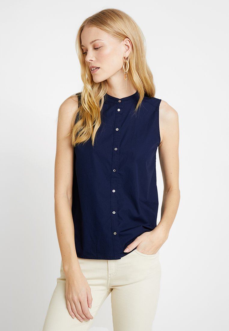 Esprit - YD - Button-down blouse - navy