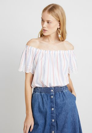 SLUB STRIPE - Bluse - off white