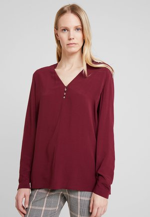 FLOW FLUID - Blouse - bordeaux red