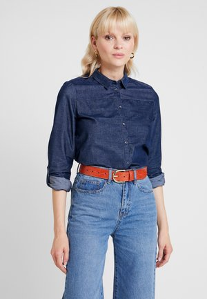 FINE - Button-down blouse - grey blue