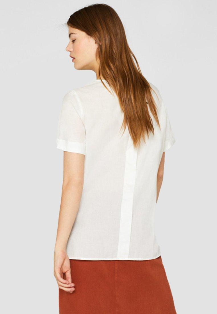 Esprit - MIT KNOPFLEISTE - Blouse - off-white