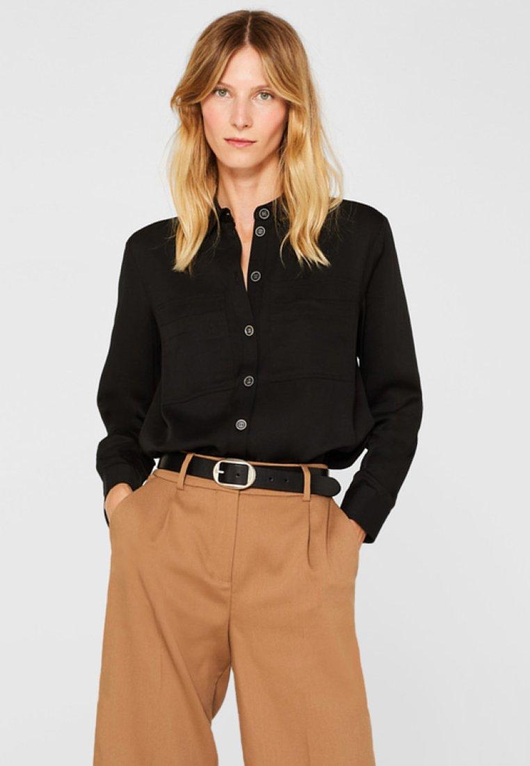 Esprit - Button-down blouse - black