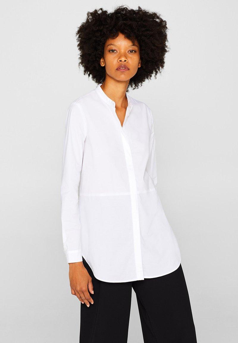 Esprit - Button-down blouse - white