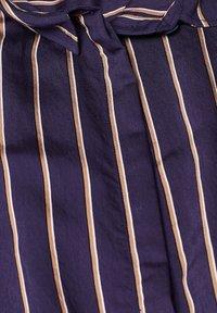 Esprit - MIT VERDECKTER KNOPFLEISTE - Button-down blouse - navy - 4