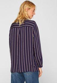Esprit - MIT VERDECKTER KNOPFLEISTE - Button-down blouse - navy - 2