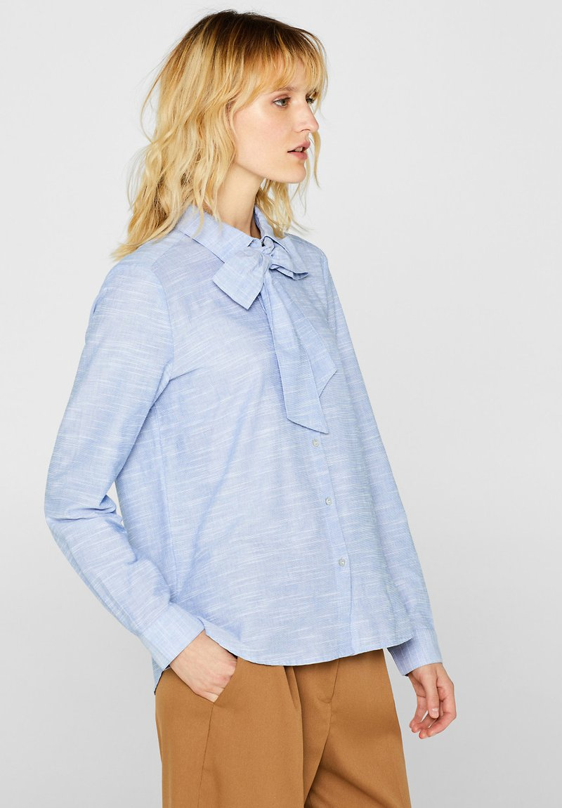 Esprit - Button-down blouse - light blue