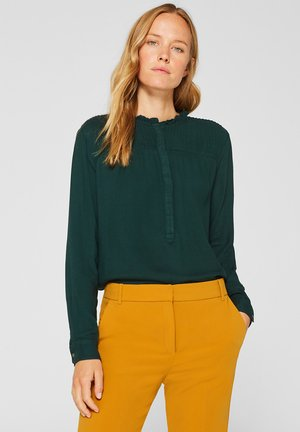 MIT BIESEN - Blouse - dark teal green