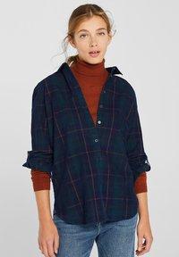 Esprit - Button-down blouse - navy - 0