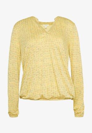 CORE - T-shirt à manches longues - dusty yellow