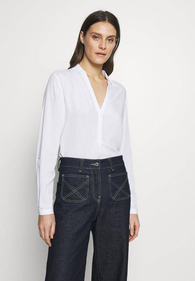 NEW SLUB - Bluse - white