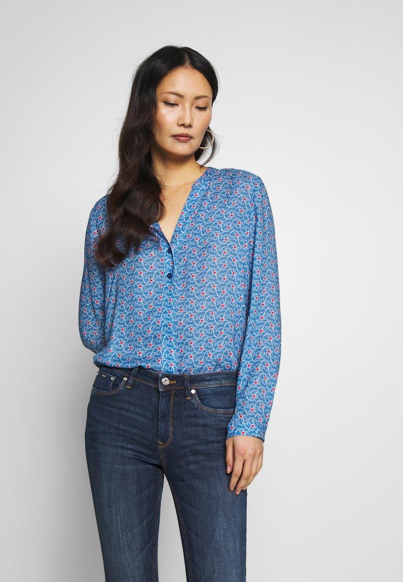 Esprit - CORE FLUENT - Blouse - bright blue