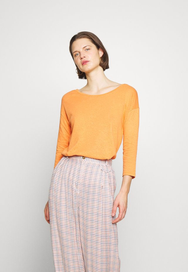 Jersey de punto - rust orange