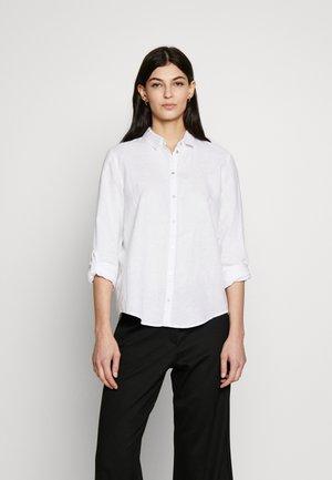 CORE - Button-down blouse - white