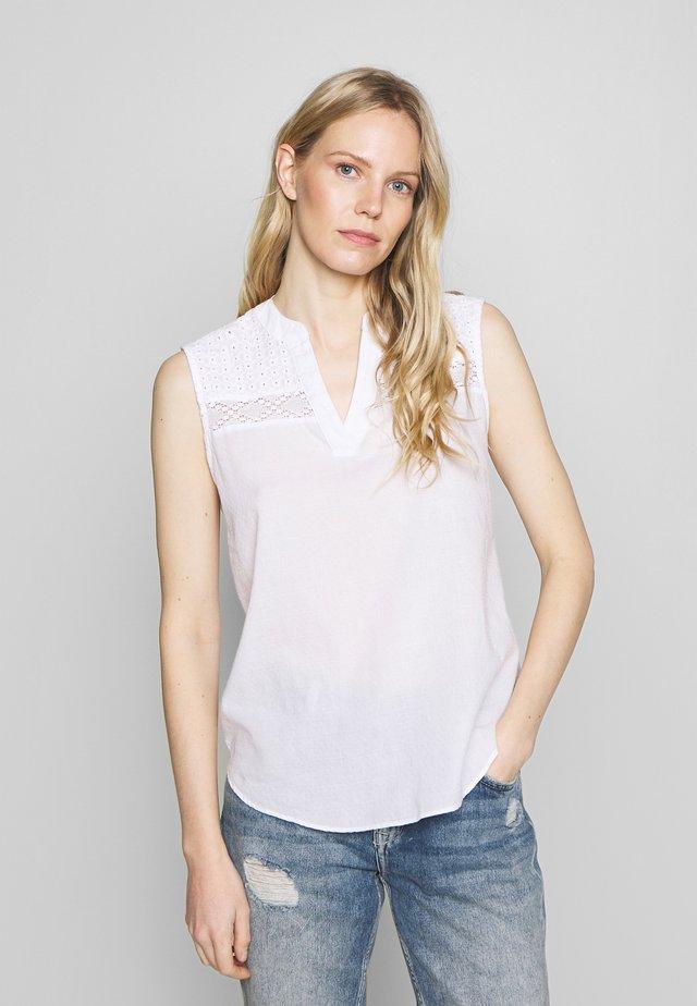 SOFT - Blouse - white