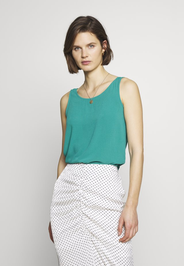 CORE RAYON CRÊP - Blusa - teal green