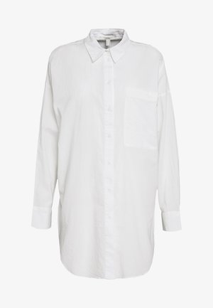 PLAIN - Button-down blouse - white