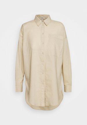 PLAIN - Button-down blouse - sand