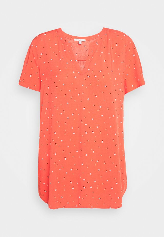 FLUID - Bluse - coral