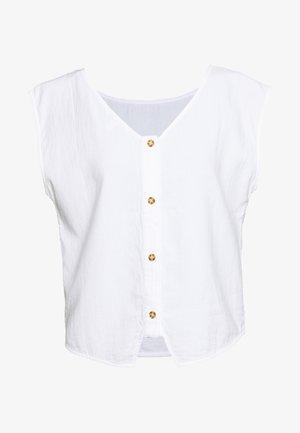 DOUBLE CLOTH - Blůza - white