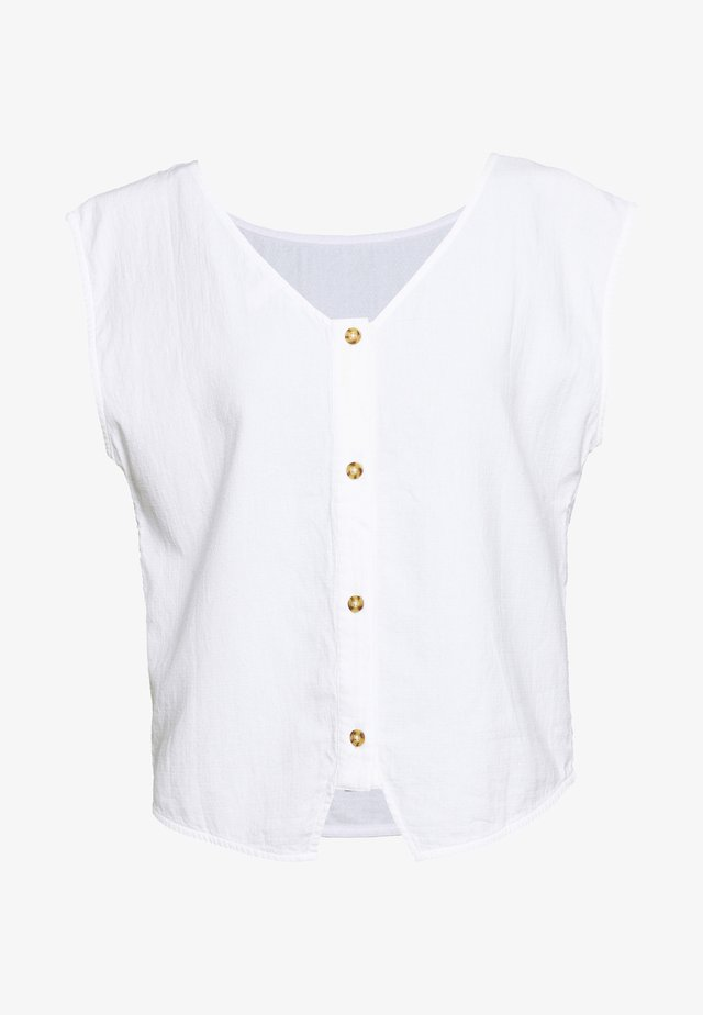 DOUBLE CLOTH - Blouse - white