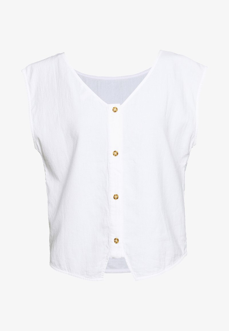 Esprit - DOUBLE CLOTH - Bluser - white