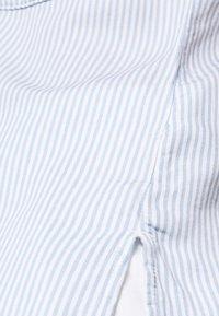Esprit - PINSTRIPE - Button-down blouse - light blue - 6