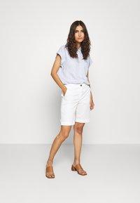 Esprit - PINSTRIPE - Button-down blouse - light blue - 1