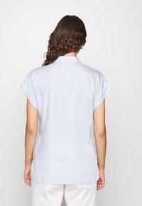 Esprit - PINSTRIPE - Button-down blouse - light blue - 2
