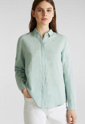 FASHION  - Button-down blouse - light aqua green