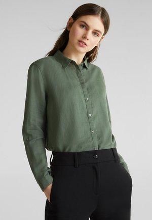 FASHION  - Button-down blouse - khaki green