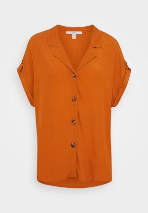 Camicia - rust brown