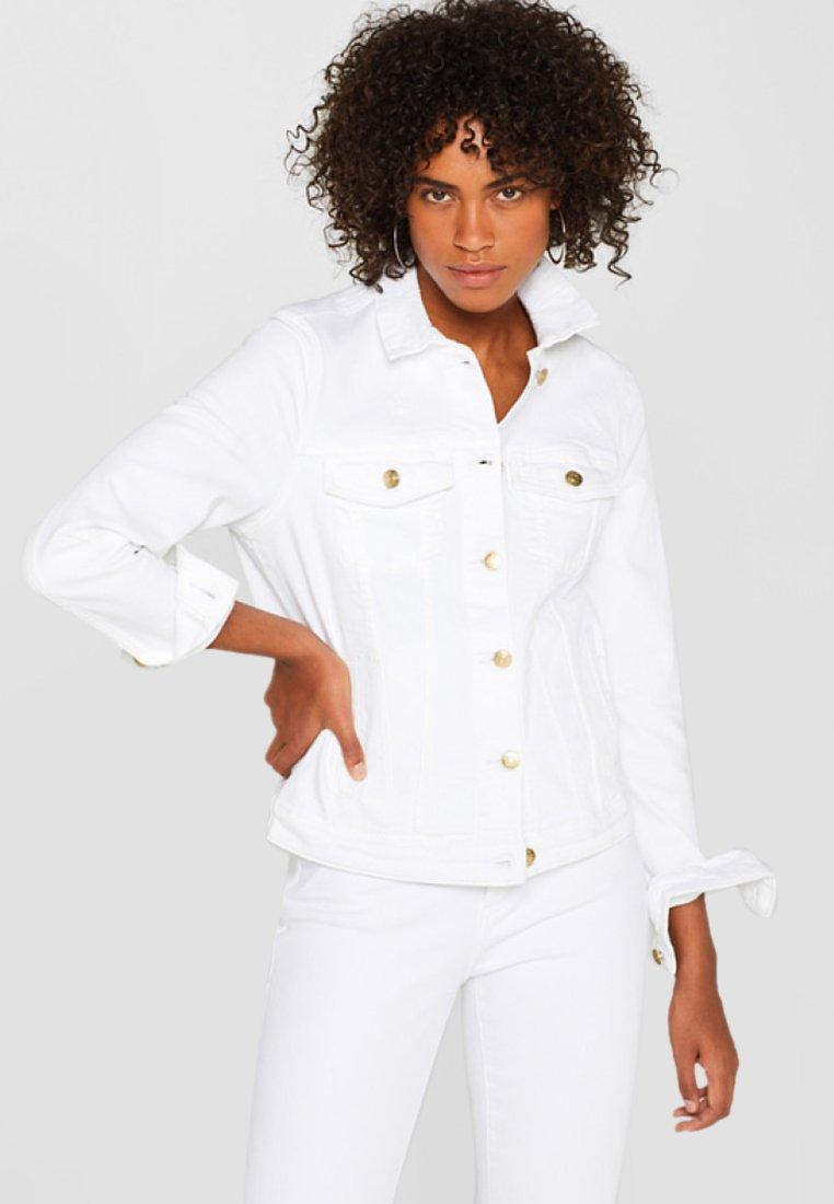 Esprit - Jeansjacke - white