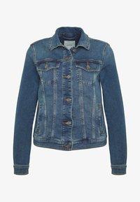 Esprit - WAISTED - Kurtka jeansowa - blue medium - 4