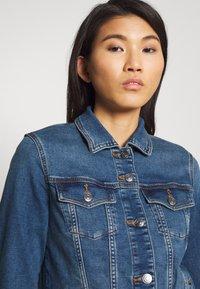 Esprit - WAISTED - Kurtka jeansowa - blue medium - 3
