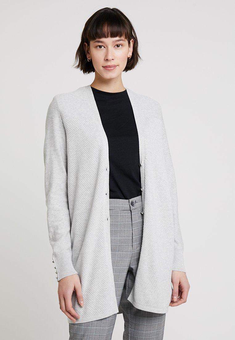 Esprit - CARDI - Strickjacke - light grey