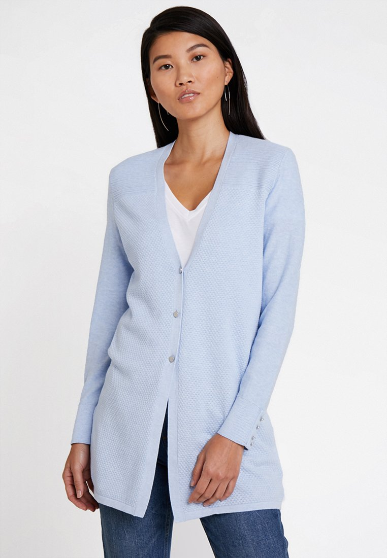 Esprit - CARDI - Strickjacke - light blue