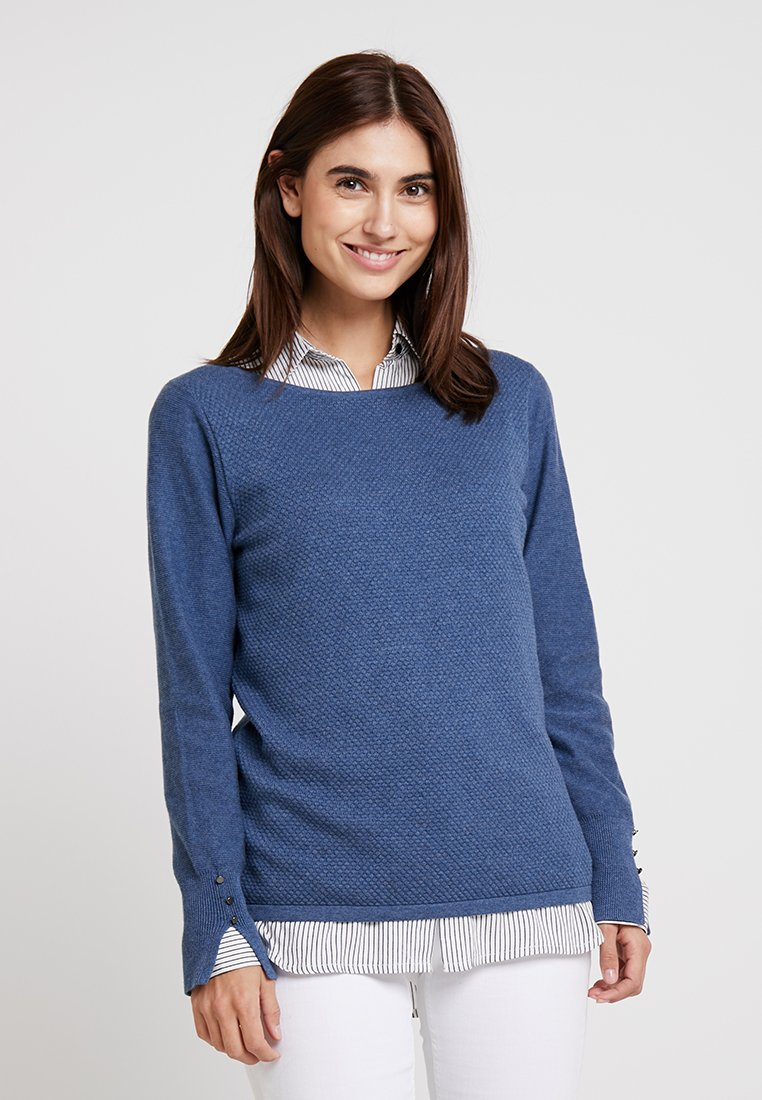 Esprit - Jumper - grey/blue